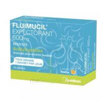 Fluimucil Expectorant Acetylcysteine 600 Mg Glé S Buv Adultes 10sach à Vélines