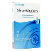 DESOMEDINE 0,1 % Collyre sol 10Fl/0,6ml à Vélines