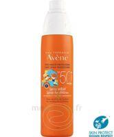 Avène Eau Thermale Solaire Spray Enfant 50+ 200ml à Vélines