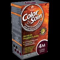 COLOR&SOIN Kit coloration permanente 4M châtain acajou à Vélines