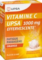 VITAMINE C UPSA EFFERVESCENTE 1000 mg, comprimé effervescent à Vélines